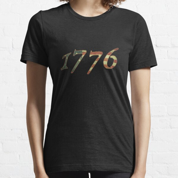 1776 Declaration of Independence US Flag Essential T-Shirt