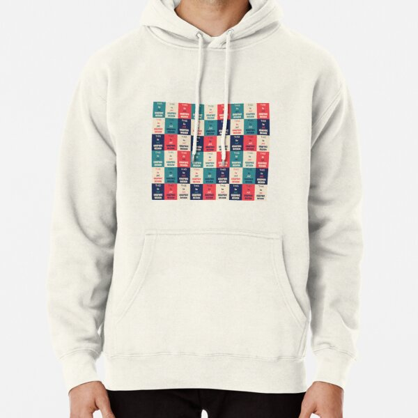 Graphic Design Pullover Hoodie