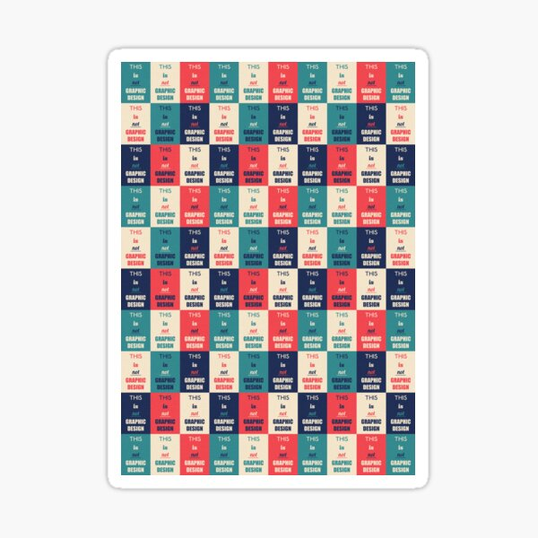 Graphic Design Sticker