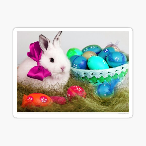 HAPPY  EASTER  TO  ALL  OF YOU, NO MATTER  YOUR AGE  Sticker