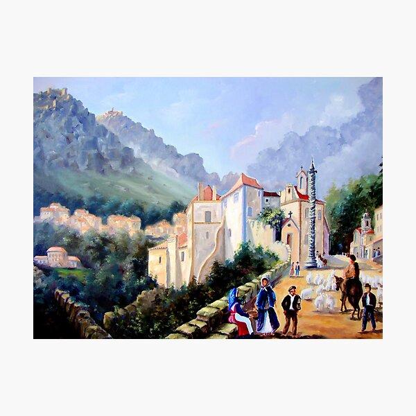 Óleo sobre tela - Oil on canvas - Huile sur toile Photographic Print
