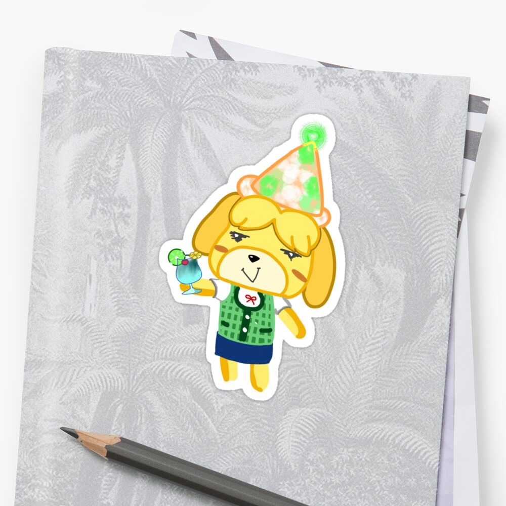 """Vacation Juice Isabelle"" Sticker by Snowcake 