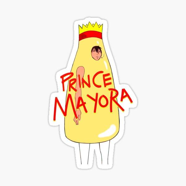 Prince mayora Sticker