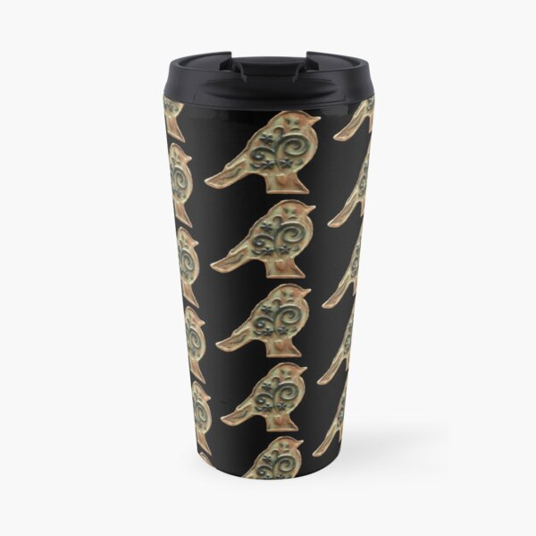 Ceramic Bird Travel Mug