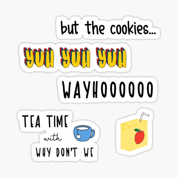 Why Don't We Sticker Pack 2 Sticker