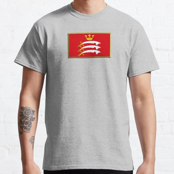Middlesex Flag Stickers, Gifts and Products Classic T-Shirt