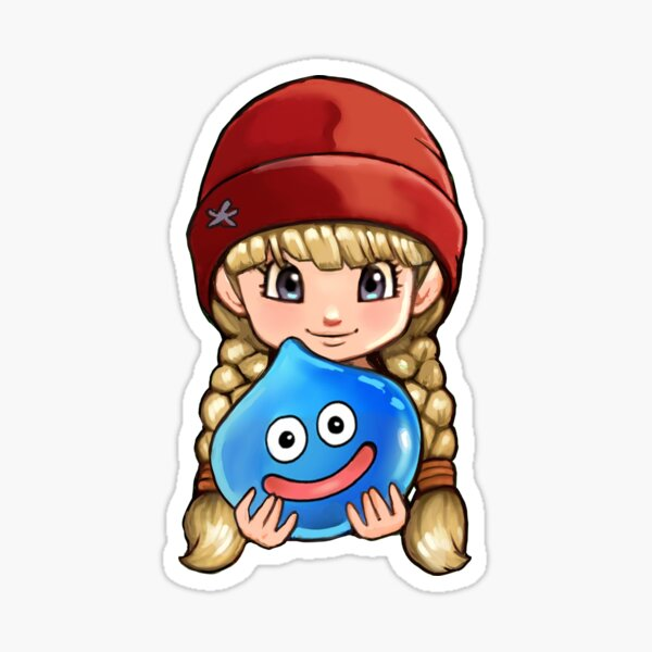 Dragon Quest XI Veronica and Slime Sticker