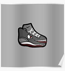 Shoe Monster Poster