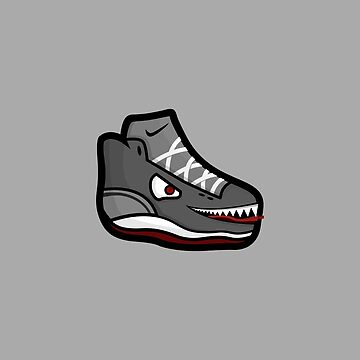 Shoe Monster by illumistration