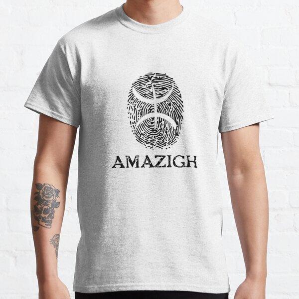 Empreinte digitale amazigh T-shirt classique