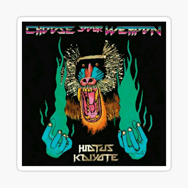 Hiatus Kaiyote Choose Your Weapon Sticker