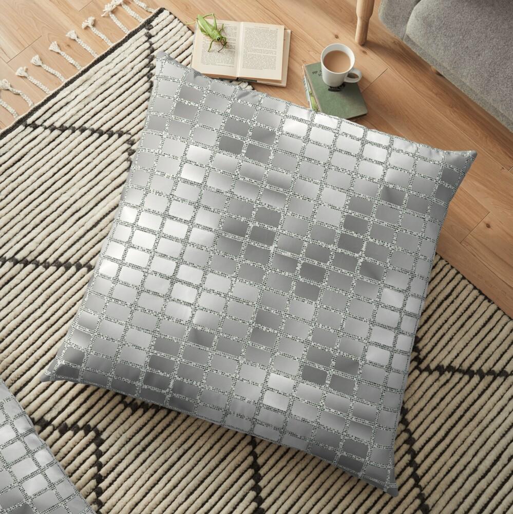 Mirror Ball Floor Pillow