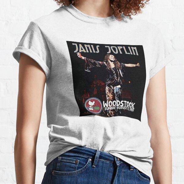 Janis Joplin at Woodstock Classic T-Shirt