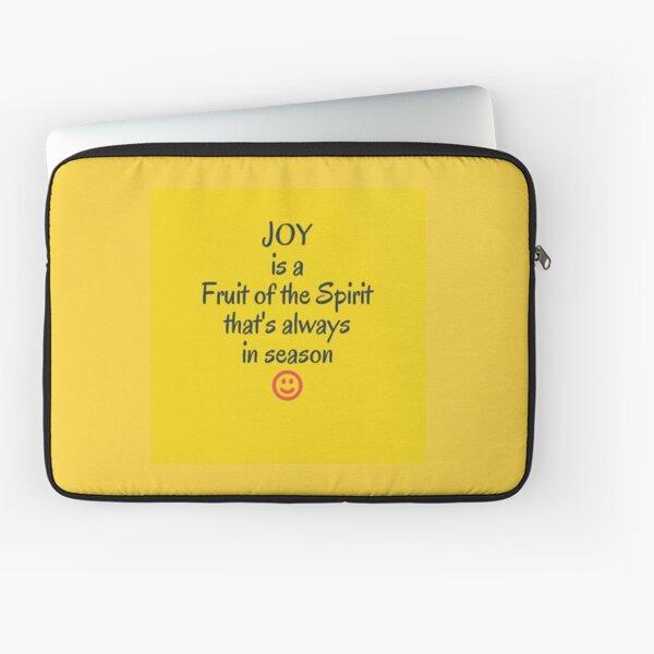Joy in all season Laptop Sleeve
