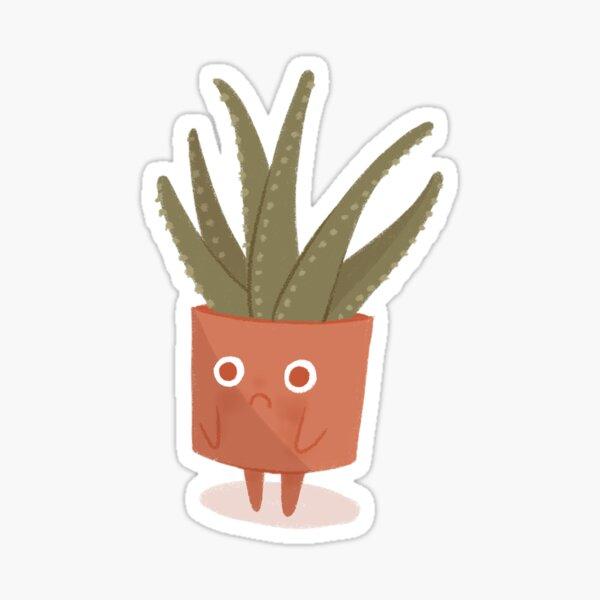 Sad Aloe Sticker