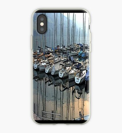 """Sailboats - Fallenbach, Switzerland"" - phone iPhone Case"