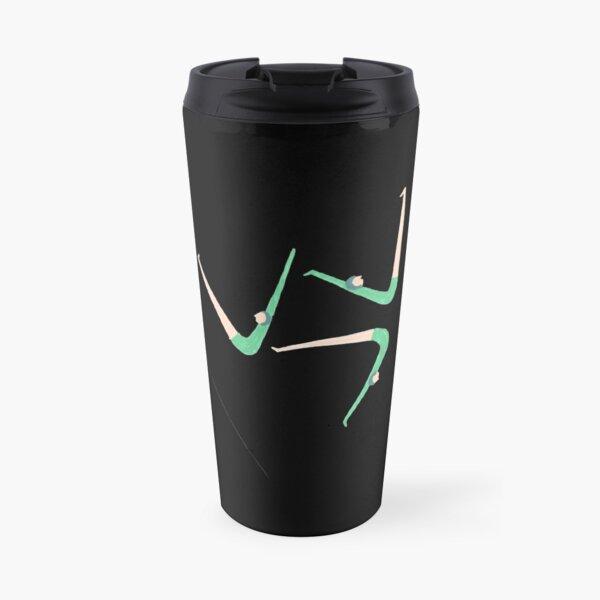 Gymnast retro style Travel Mug