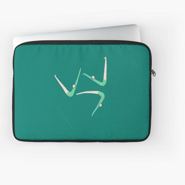 Gymnast retro style Laptop Sleeve