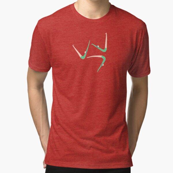 Gymnast retro style Tri-blend T-Shirt