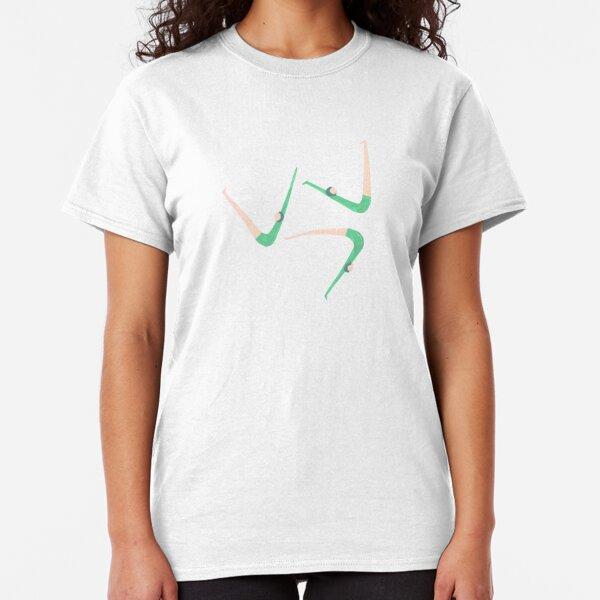 Gymnast retro style Classic T-Shirt