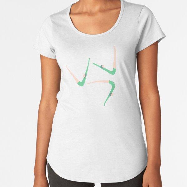 Gymnast retro style Premium Scoop T-Shirt