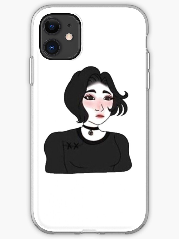 Doomer Girl Wojak Meme Iphone Case Cover By Demandwear Redbubble