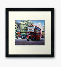 London Transport RT Framed Print