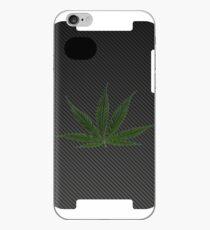 Carbon Fiber iPhone Case - marijuana leaf iPhone Case