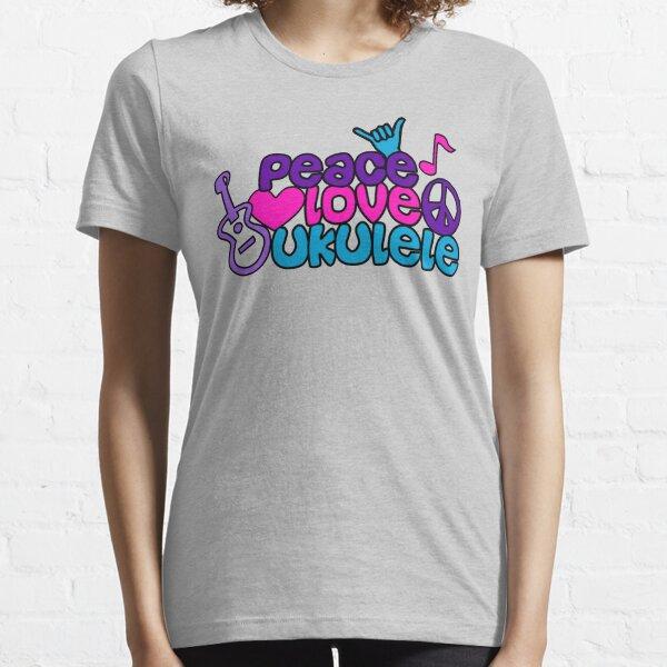 Ukulele Love Peace  Essential T-Shirt