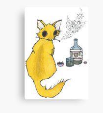 Bar Cat Canvas Print