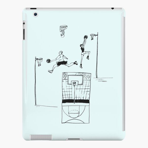 Basketball retro sketch iPad Snap Case
