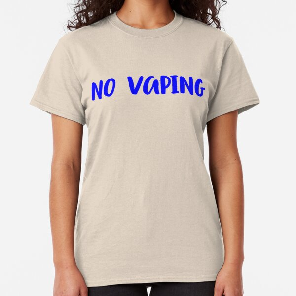 NO VAPING Classic T-Shirt