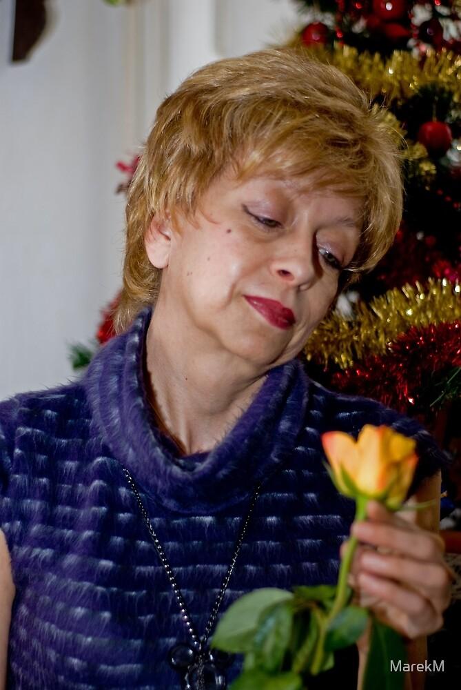 Brygida and rose life (Brygida i jej róża życia) by MarekM