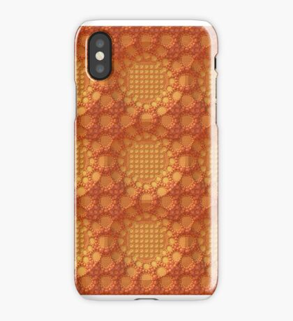 Orange Lace for iPhone iPhone Case