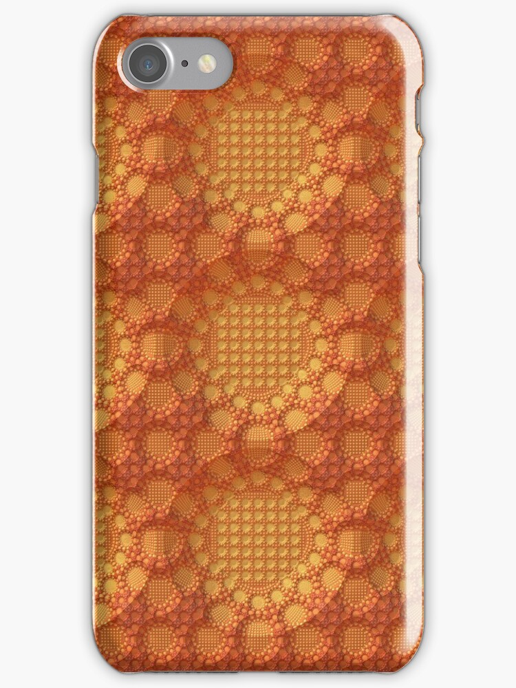 Orange Lace for iPhone by Lyle Hatch
