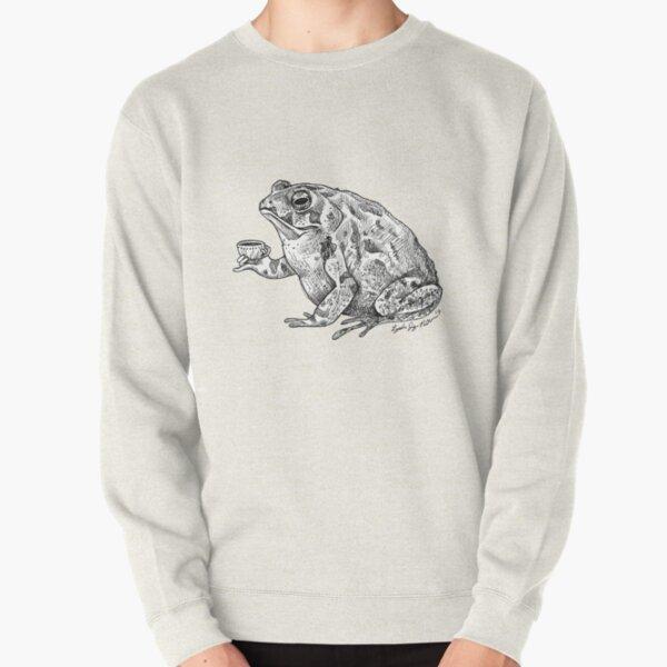 Tea Toad Pullover Sweatshirt