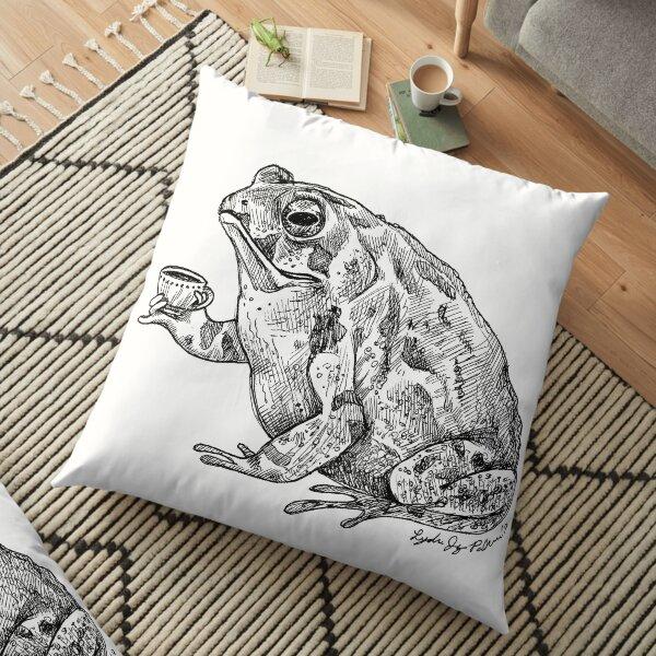 Tea Toad Floor Pillow