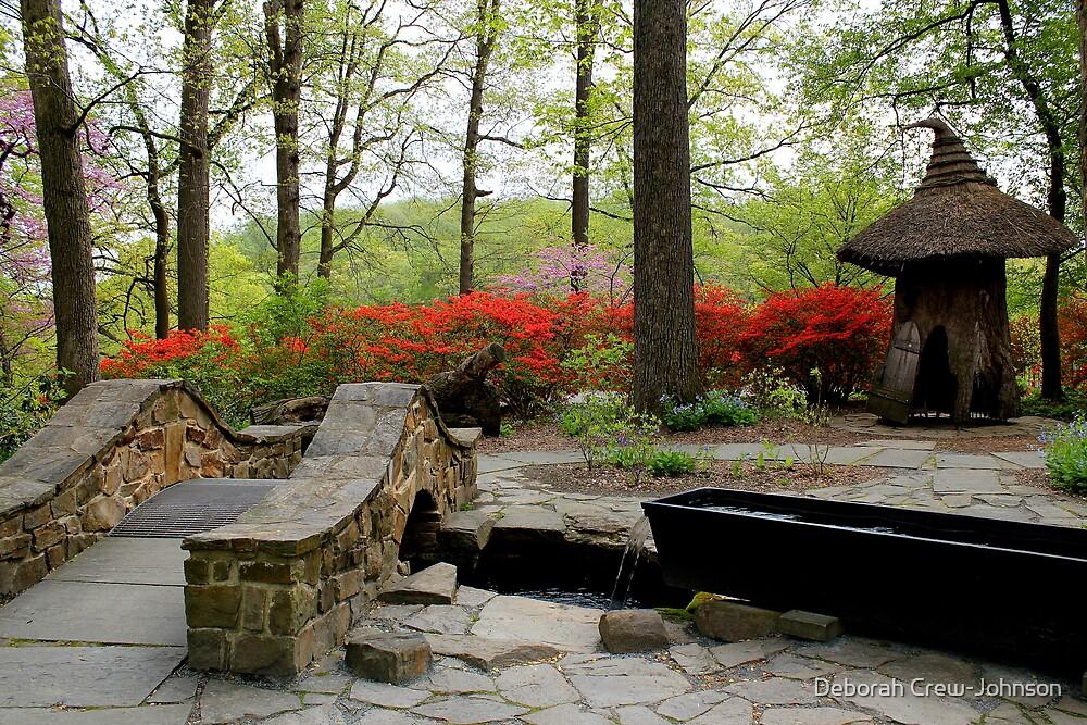 Asian Garden by Deborah Crew-Johnson