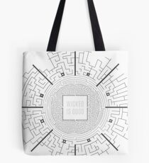 The Maze Runner Layout Tote Bag