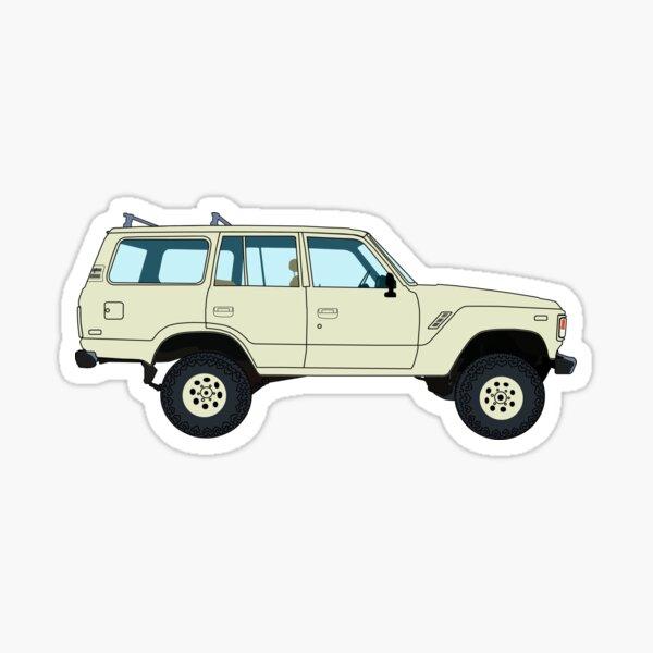Toyota Landcruiser Sticker