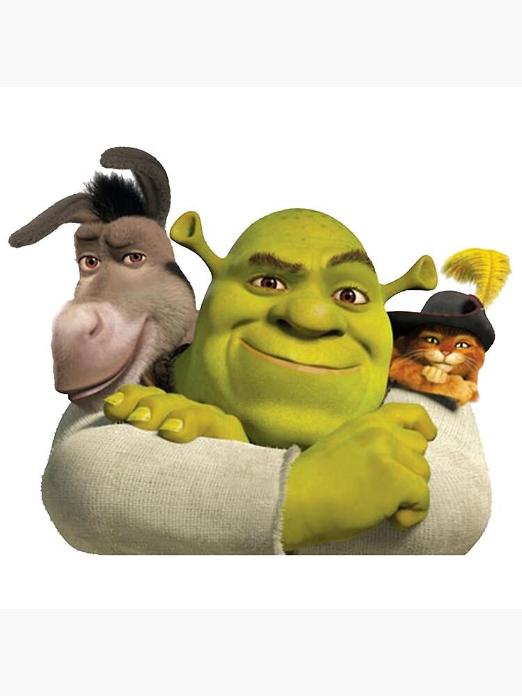 Shrek And Friends Greeting Card By Jennavange Redbubble