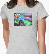 1940s DODGE PLYMOUTH CHRYSLER Womens Fitted T-Shirt