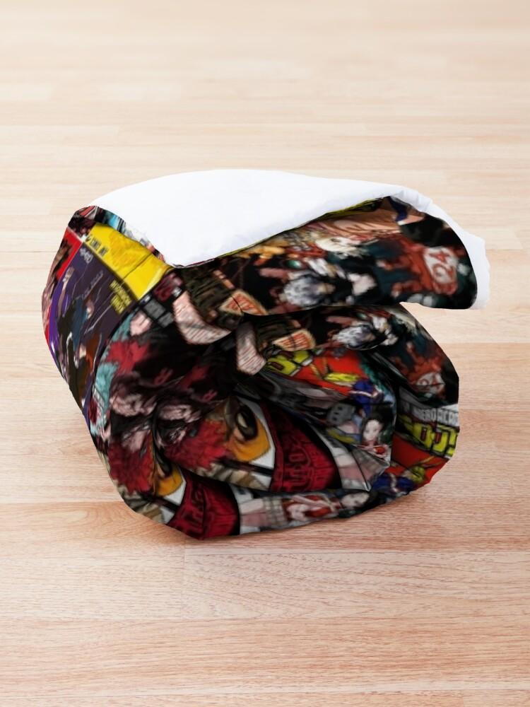 Alternate view of My hero academia Cover Collage Comforter