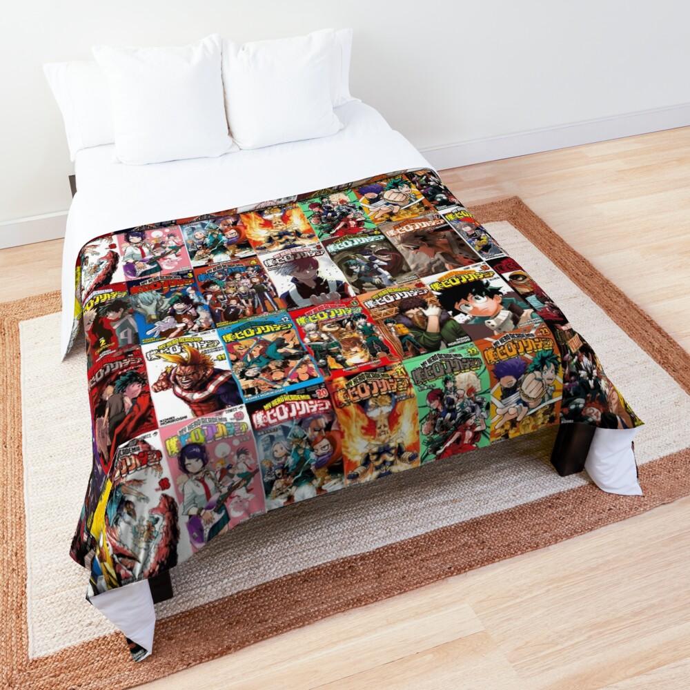 My hero academia Cover Collage Comforter