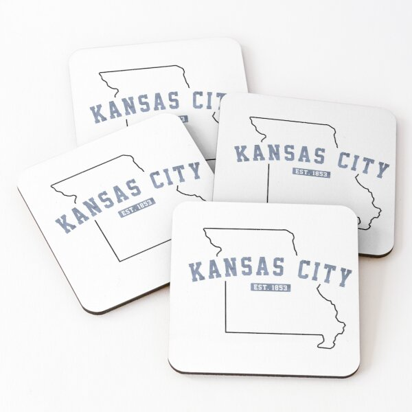 Kansas City, Missouri Coasters (Set of 4)