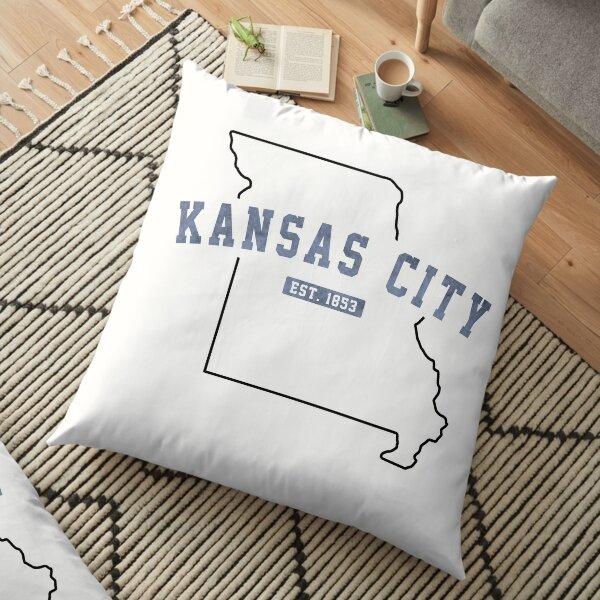 Kansas City, Missouri Floor Pillow