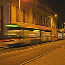 Tram in Nottingham by Elaine123