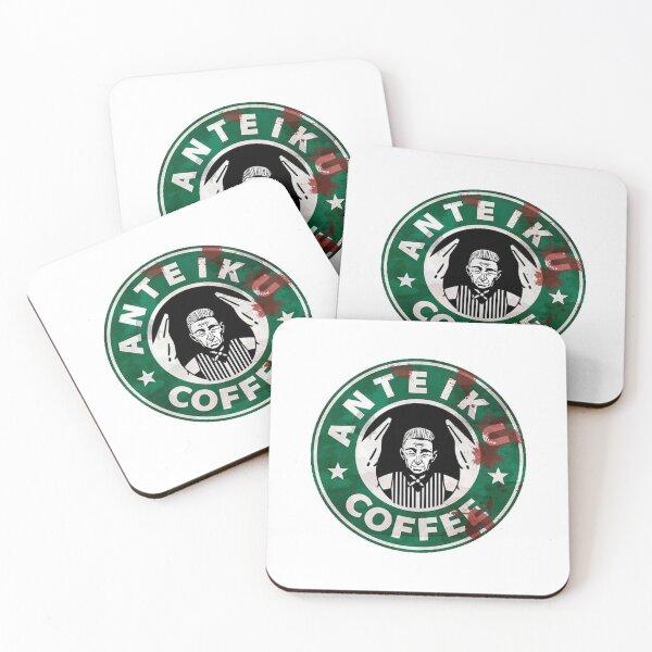 Tokyo ghoul : Anteiku Coffee Coasters (Set of 4)