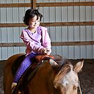 Equestrian in the making by Farah  Rose