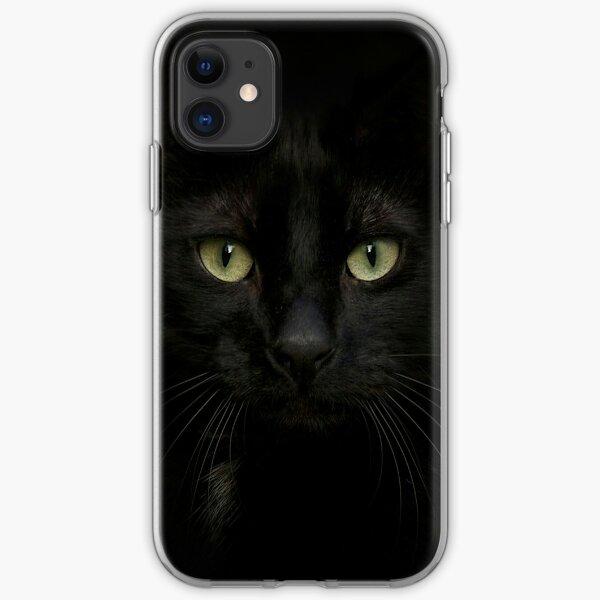 Black on Black.. iPhone Soft Case